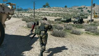 Metal Gear Solid 5 - Солид Снейк выходит в открытый мир