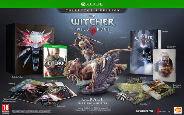 Коллекционное издание The Witcher 3 для Xbox One получит эксклюзивные материалы