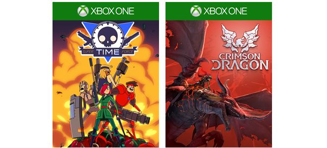 Games With Gold сентябрь: Crimson Dragon и Super Time Force