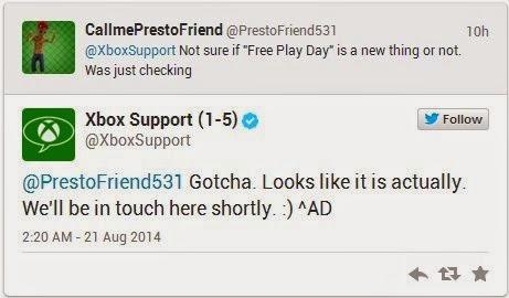 """Пользователям с """"золотой"""" подпиской на Xbox Live станет доступна программа Free Play Day with Gold"""