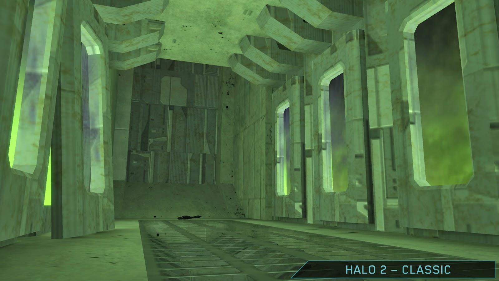 Обновленная карта Lockout из Halo: The Master Chief Collection