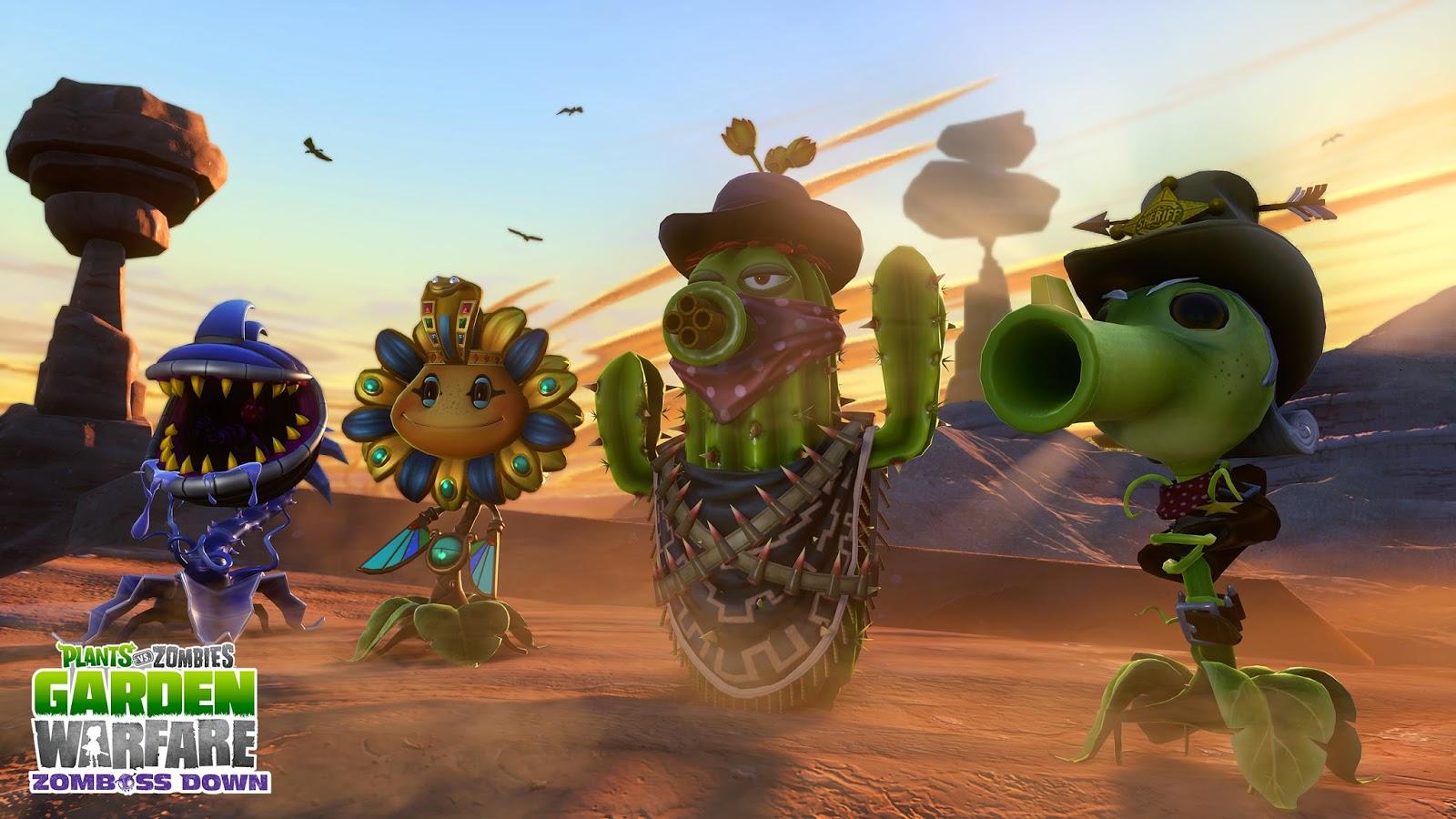 Игра Plants vs Zombies: Garden Warfare на Playstation 4 продается хуже, чем на Xbox One