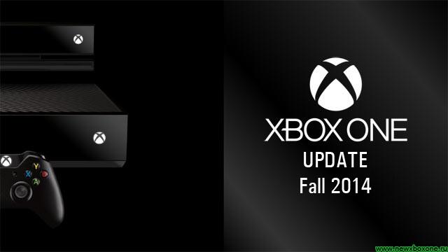 Анонс осенних обновлений прошивки Xbox One