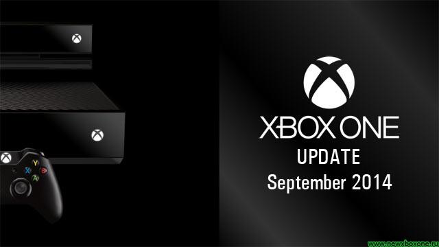 Сентябрьское обновление прошивки Xbox One, список изменений