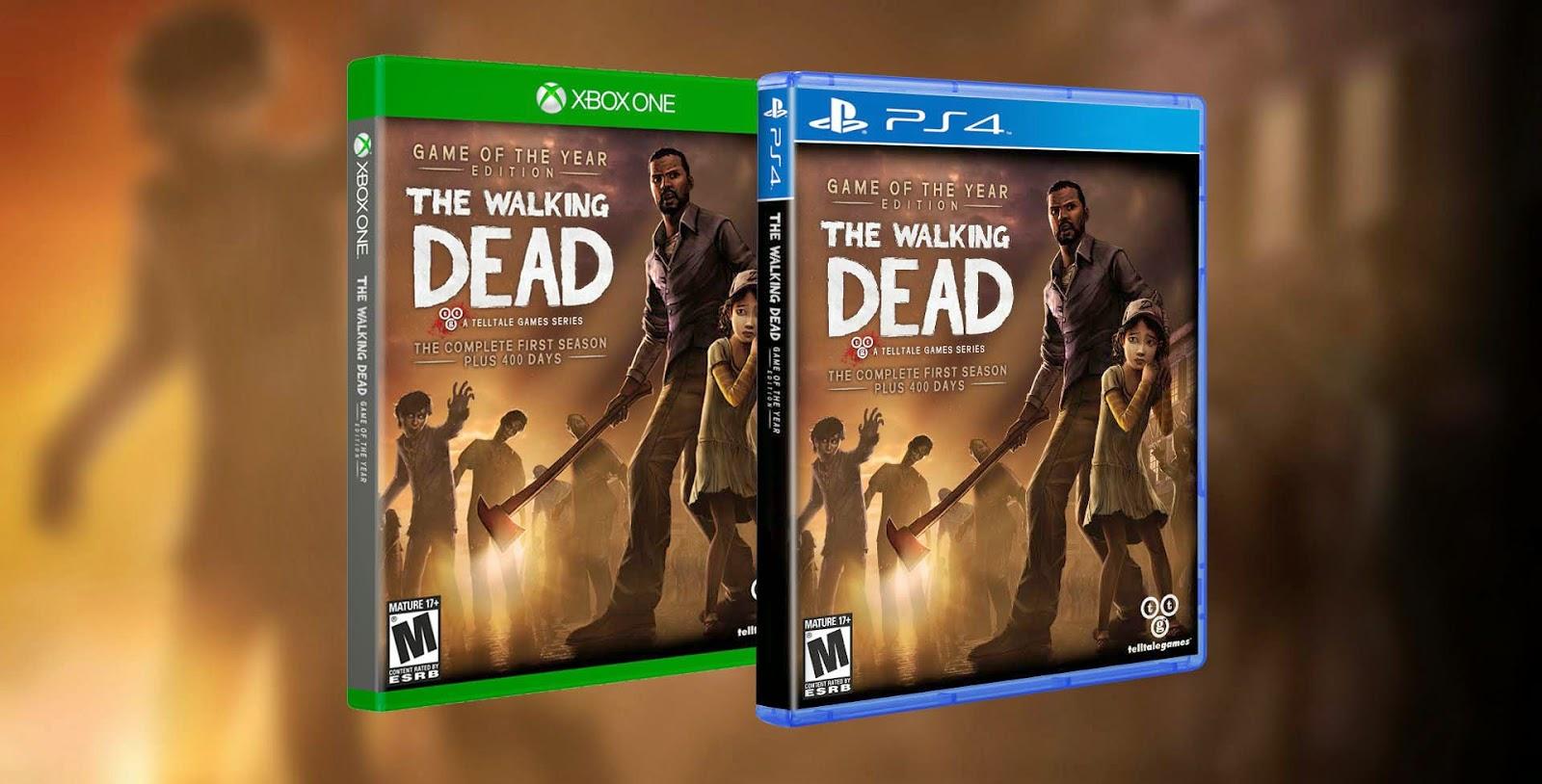 Купить игру The Walking Dead на Xbox One можно будет уже в октябре