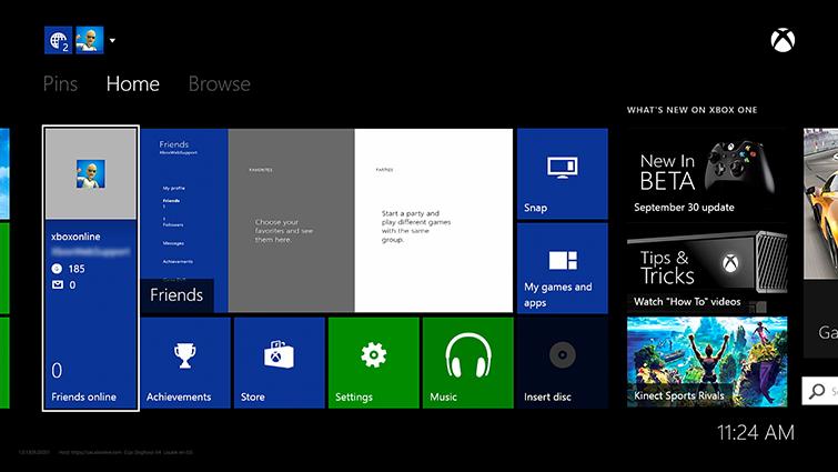 Пользователям Xbox One не хватает возможности кастомизации интерфейса