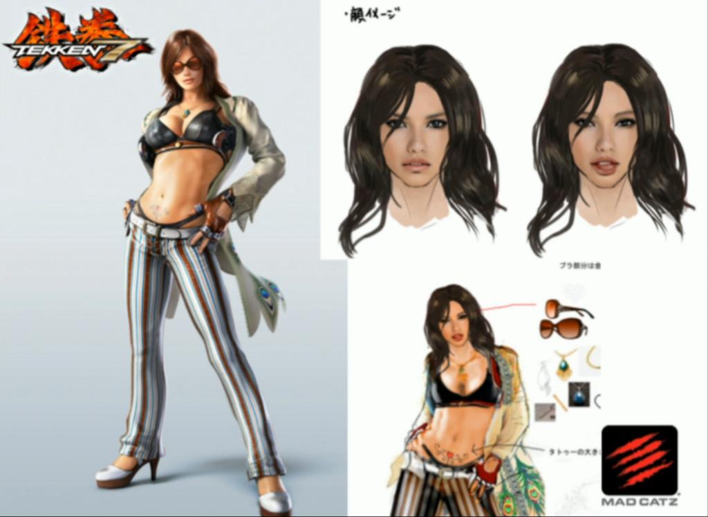 Каталина - новый герой вселенной Tekken
