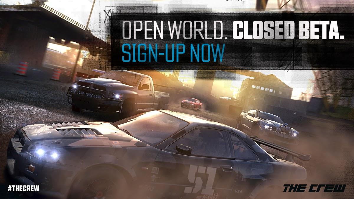 Закрытое бета-тестирование The Crew на Xbox One стартует 30 сентября