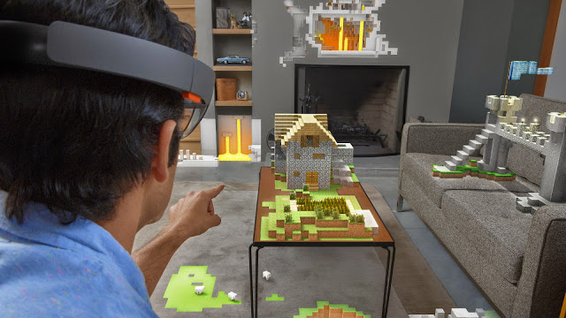 Стало известно, какие студии работают над играми и приложениями для HoloLens