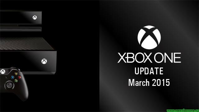 Мартовское обновление прошивки Xbox One, список изменений