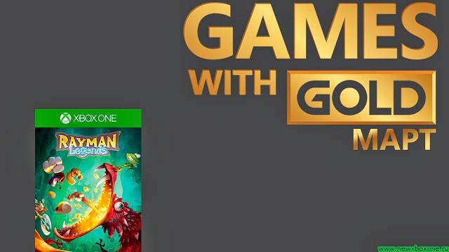 Games With Gold март: бесплатная игра на Xbox One – Rayman: Legends