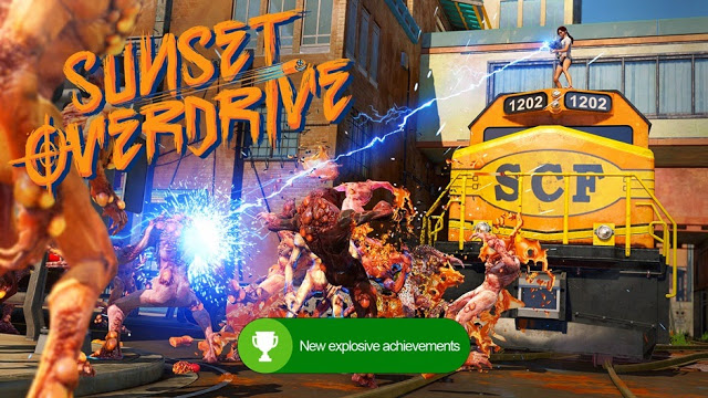 В игру Sunset Overdrive добавят щедрое достижение в честь Дня Святого Валентина