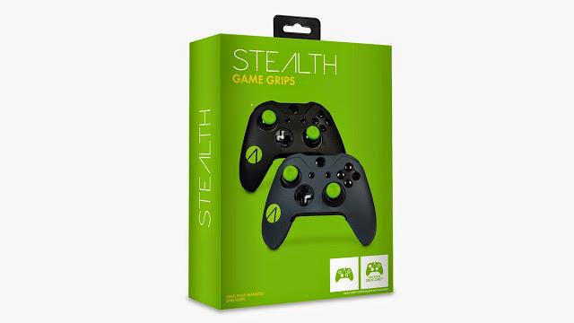 Stealth Game Grips – захваты для геймпадов Xbox One, способные повысить комфортабельность игры