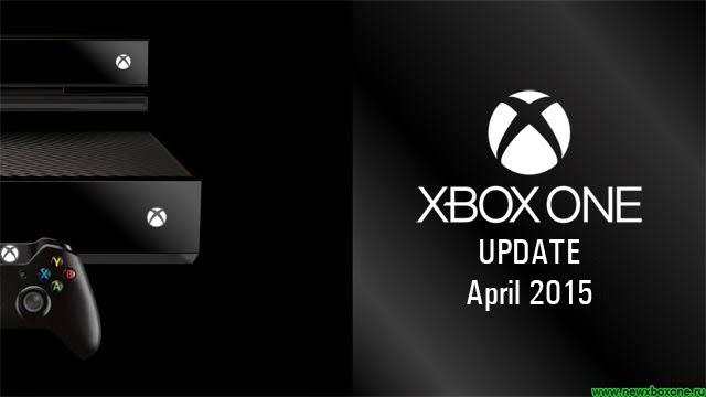 Первое апрельское обновление прошивки Xbox One, список изменений