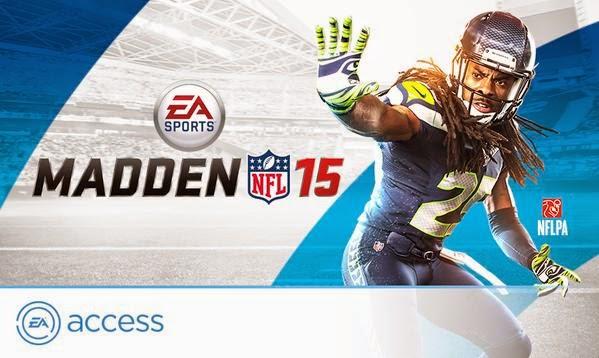 В библиотеку бесплатных игр эксклюзивного для Xbox One сервиса EA Access добавлена Madden NFL 15