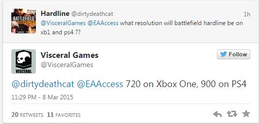 Разработчики из Visceral Games не сумели оптимизировать Battlefield: Hardline для Xbox One и Playstation 4