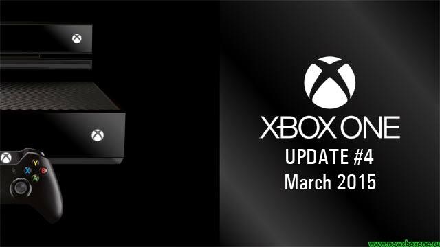 Мартовская версия прошивки для Xbox One получила четвертое обновление, список изменений