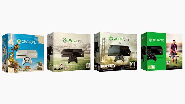 В 2015 году количество бандлов Xbox One и Playstation 4 с играми серьезно уменьшится