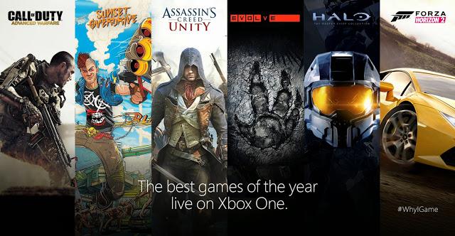 Опубликован список самых популярных игр для Xbox One, продажи консоли преодолели отметку в 12 млн