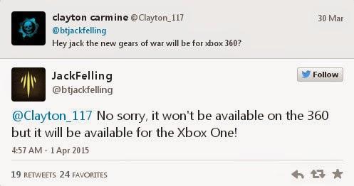 Новая игра серии Gears of War не выйдет на Xbox 360, но ее релиз на PC не исключен