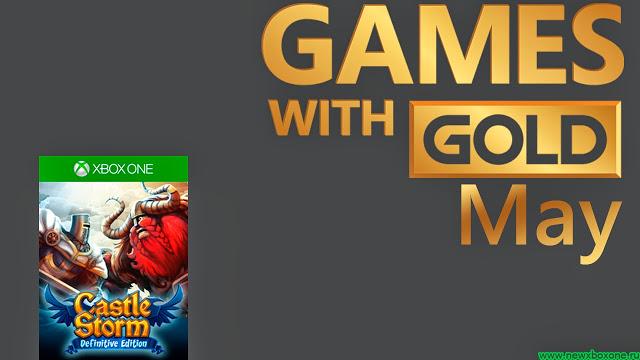 Games With Gold май: бесплатные игры на Xbox One - CastleStorm: Definitive Edition и Pool Nation FX
