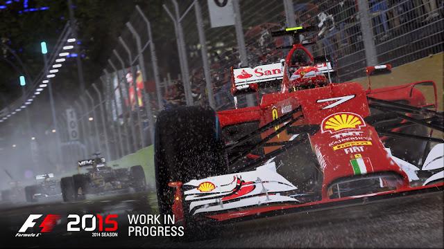 Очередной игрой, которая не будет работать на Xbox One в разрешении 1080p, станет F1 2015