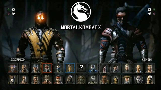 Стал известен полный список персонажей игры Mortal Kombat X