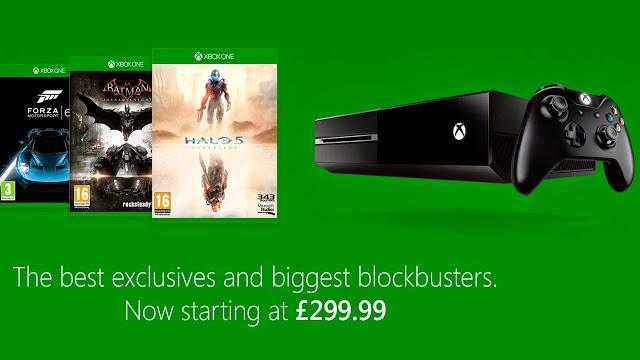 Снизилась розничная цена на игровую приставку Xbox One в Великобритании