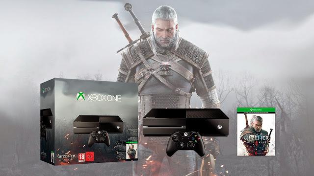 Официально анонсирован для продажи в России бандл Xbox One + Ведьмак 3