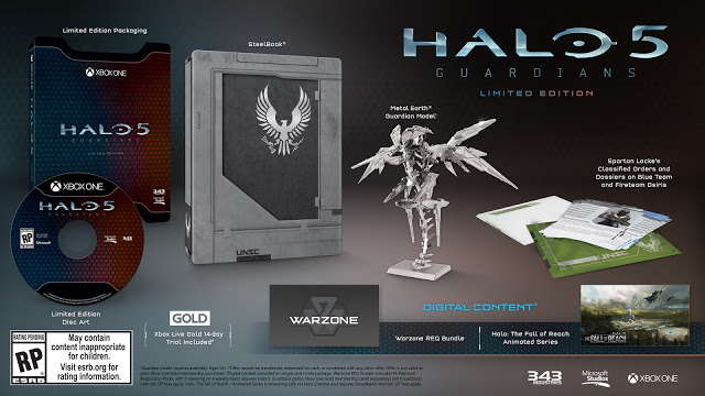 Представлены 2 коллекционных издания игры Halo 5: Guardians