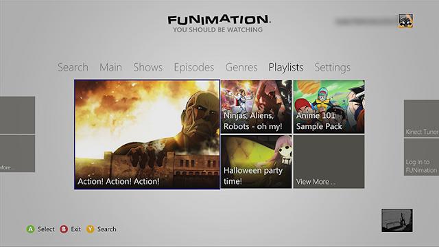 Компания Funimation выпустила собственное приложение для Xbox One
