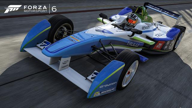Пополнился список автомобилей Forza Motorsport 6, в игре будут присутствовать болиды Формулы Е
