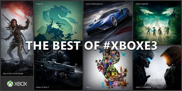 Удачная выставка E3 2015 повысила продажи Xbox One вдвое