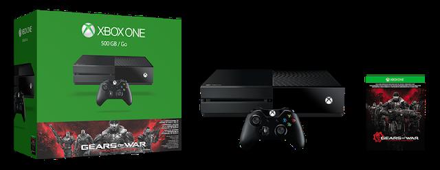 Анонсирован бандл Xbox One с игрой Gears Of War Ultimate Edition