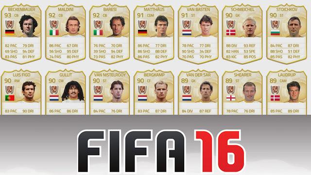 Легендарные игроки в Fifa 16 вновь будут доступны эксклюзивно на консолях Xbox