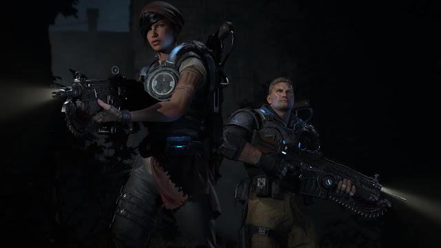 Разработчики Gears 4 показали арты с героями игры