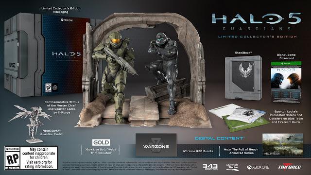 Коллекционное издание Halo 5: Guardians может обзавестись версией игры на диске