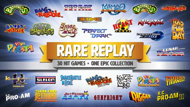 В дисковой версии игры Rare Replay покупателей ждет весь контент