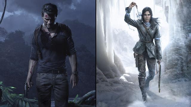 Игры Rise of the Tomb Raider и Uncharted 4 сравнили друг с другом