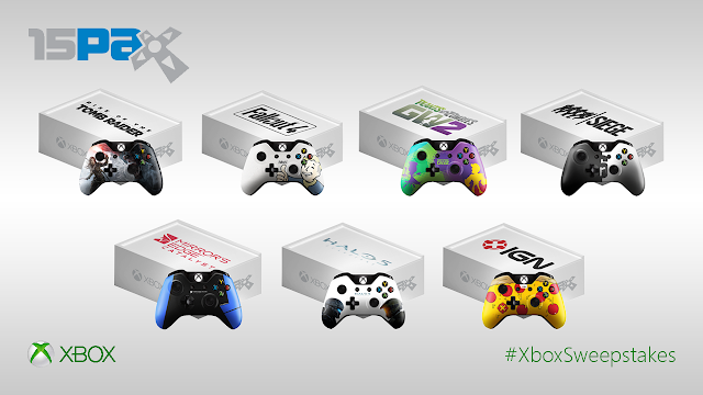 Представлены коллекционные геймпады для Xbox One