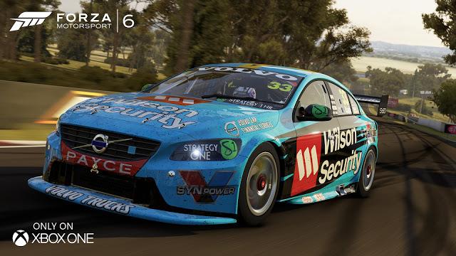 Автомобили гоночной серии V8 Supercars Australia появятся в Forza Motorsport 6