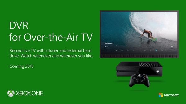 Для работы функции DVR Free-to-Air TV на Xbox One придется иметь отдельный жесткий диск