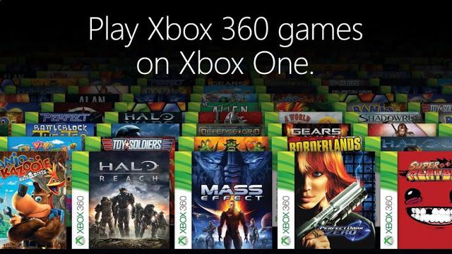 Появилась возможность смотреть с консоли, какие игры с Xbox 360 работают на Xbox One