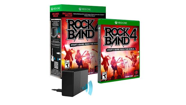 Версия игры Rock Band 4 для Xbox One будет на $20 дороже, чем для Playstation 4