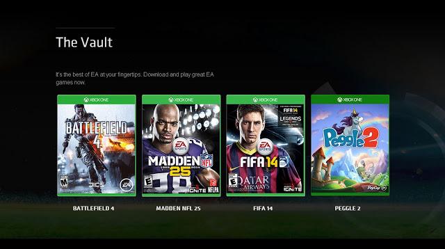 Библиотека бесплатных игр сервиса EA Access пополнится проектами с Xbox 360