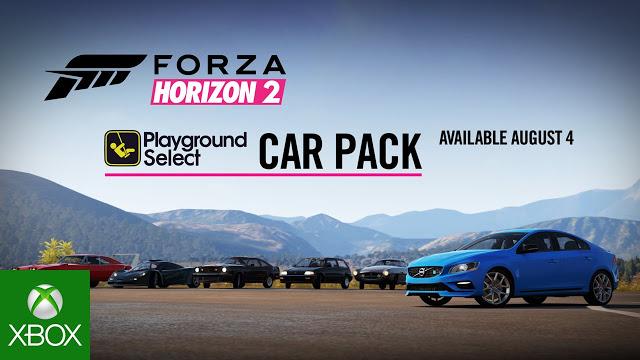 Компания Microsoft предлагает в рамках временной акции бесплатный набор автомобилей для Forza Horizon 2