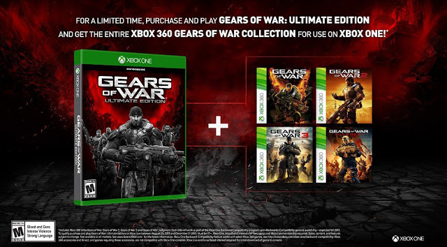 Покупатели Gears of War Ultimate Edition получат все игры франшизы бесплатно по программе обратной совместимости