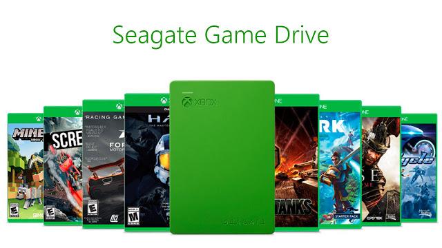 Представлен специализированный жесткий диск для Xbox - Seagate Game Drive