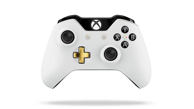 Анонсирован новый геймпад для Xbox One - Special Edition White Lunar, подробности