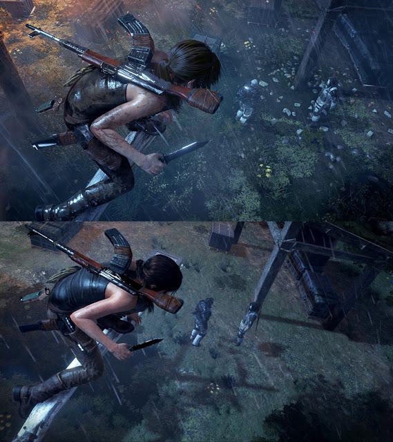 Разработчики Rise of the Tomb Raider показали сравнение версий игры для Xbox One и Xbox 360